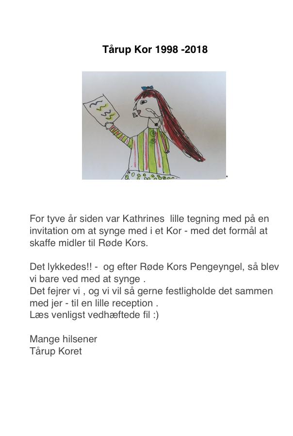 Tårup Kor 1998-2018
